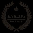 HYE~LIFE Banquet Hall Menu